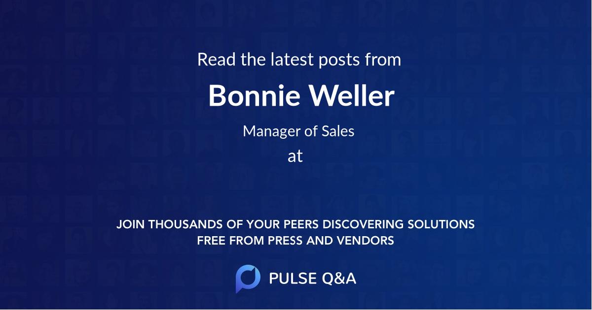 Bonnie Weller