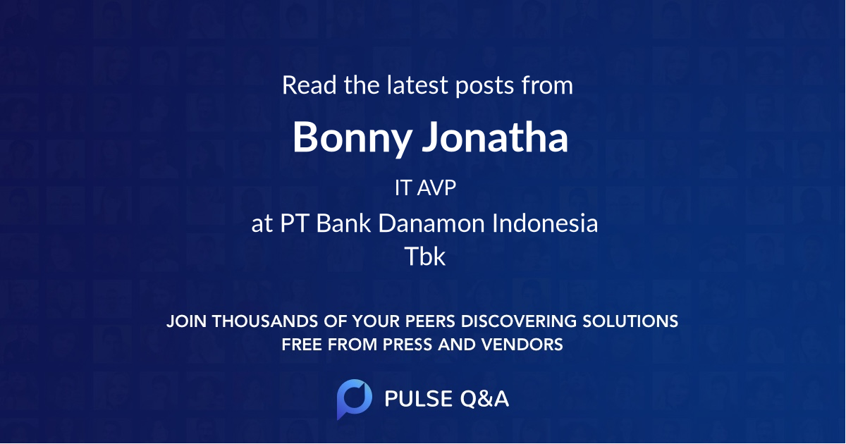 Bonny Jonatha