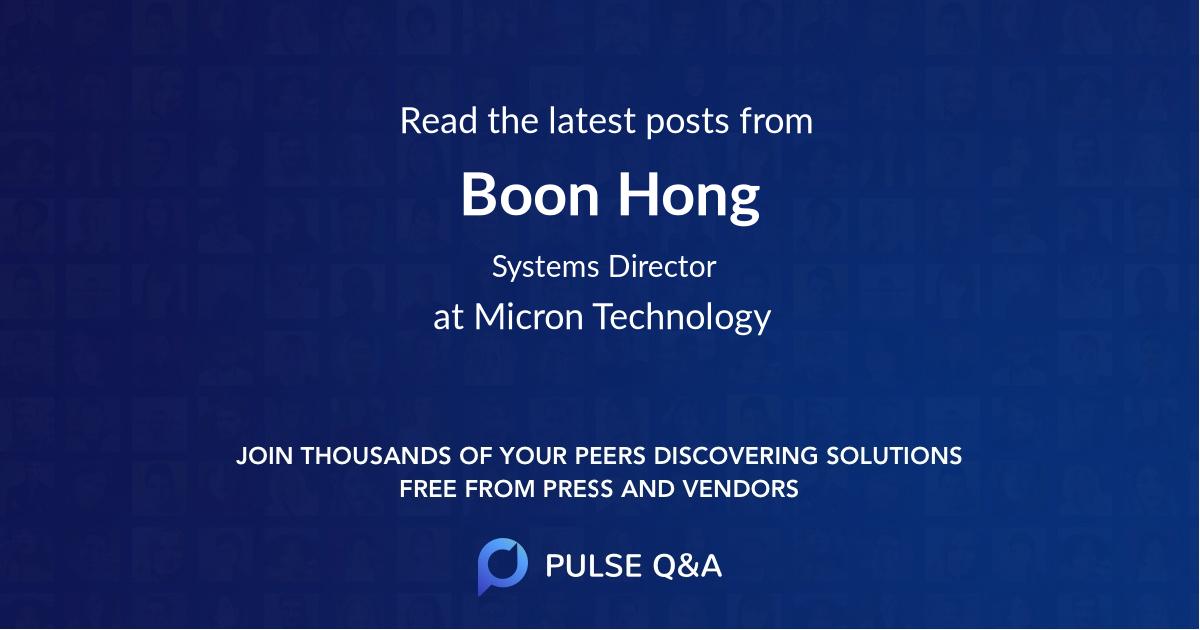Boon Hong