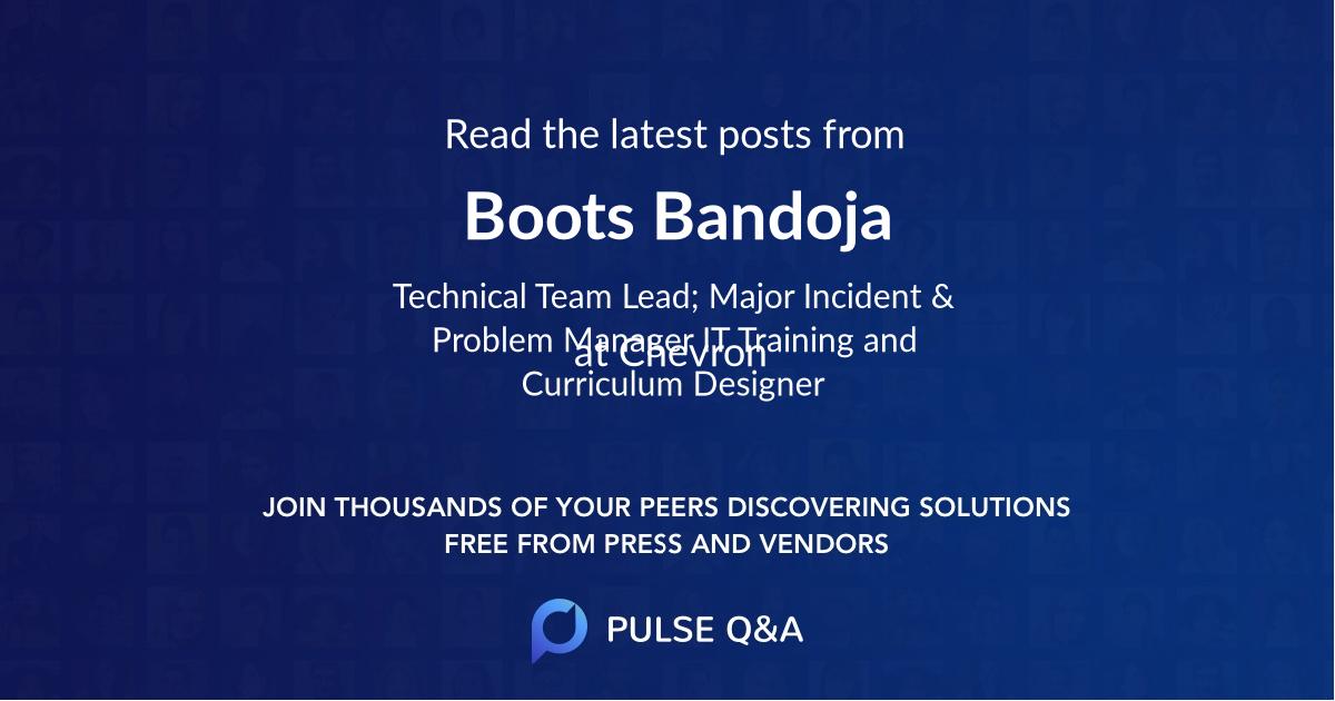 Boots Bandoja