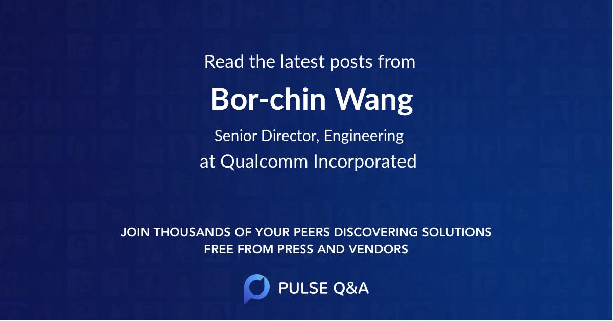 Bor-chin Wang