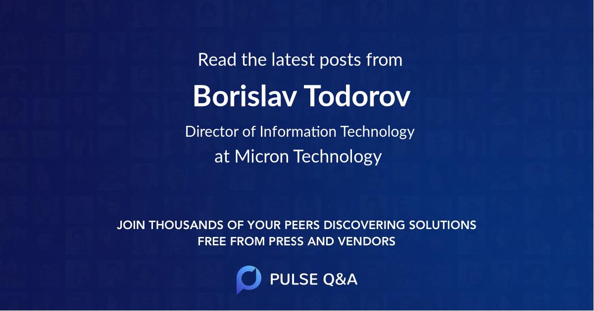 Borislav Todorov