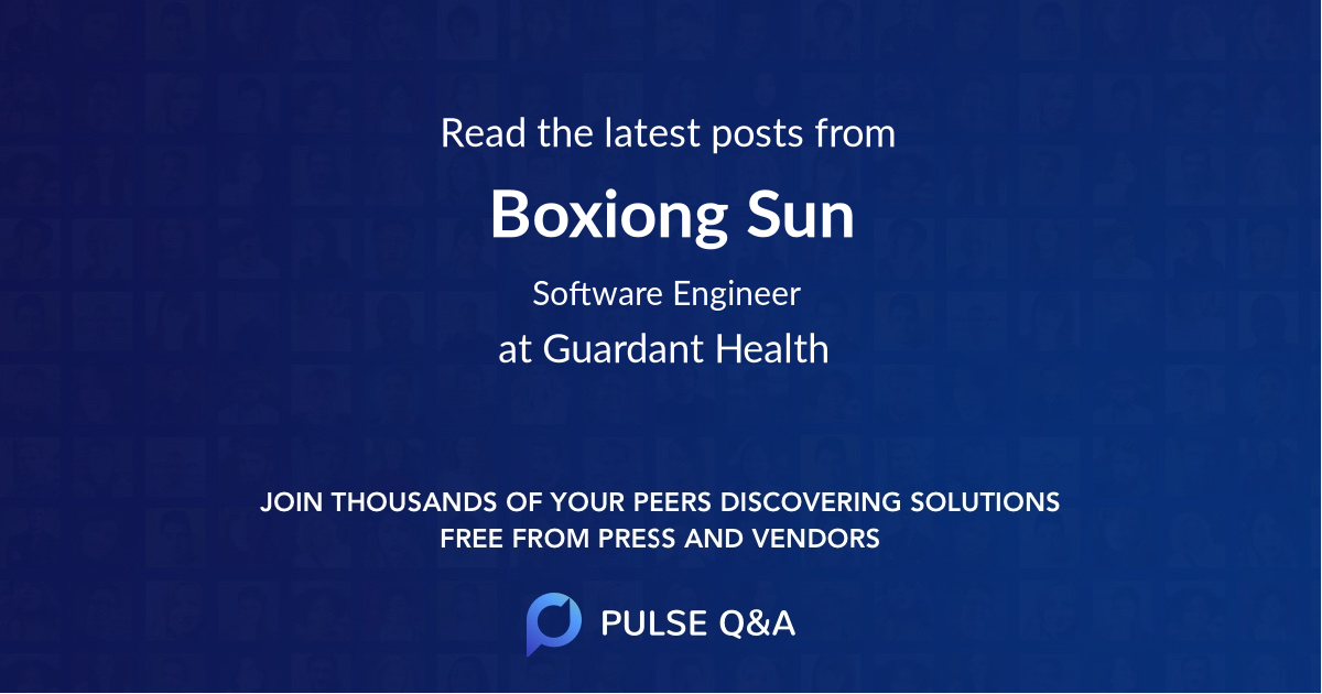 Boxiong Sun