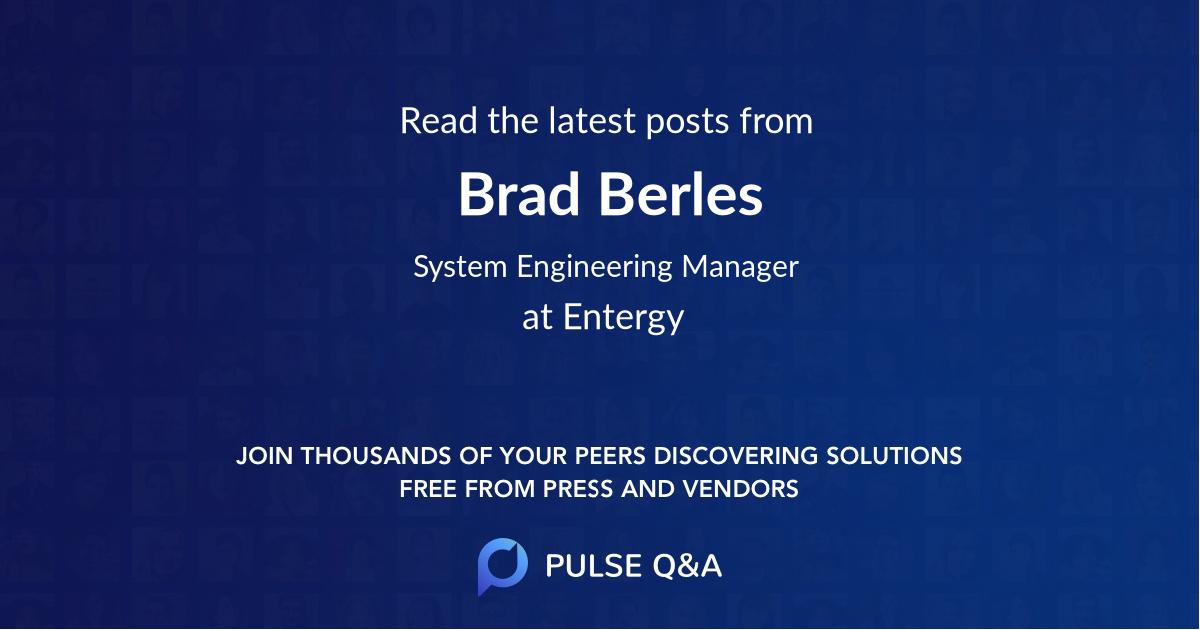 Brad Berles