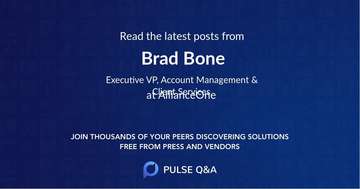 Brad Bone