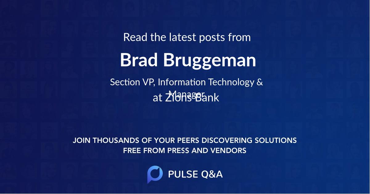 Brad Bruggeman