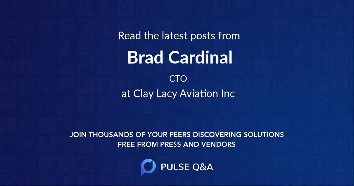 Brad Cardinal