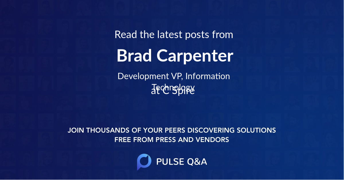 Brad Carpenter