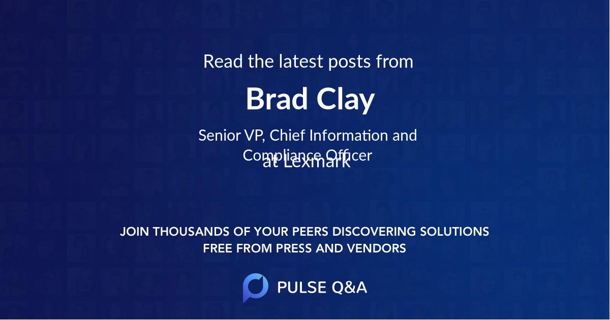 Brad Clay