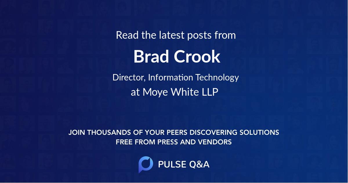 Brad Crook