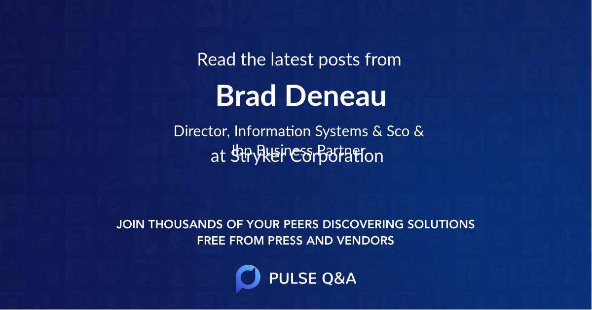 Brad Deneau