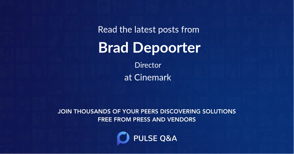Brad Depoorter