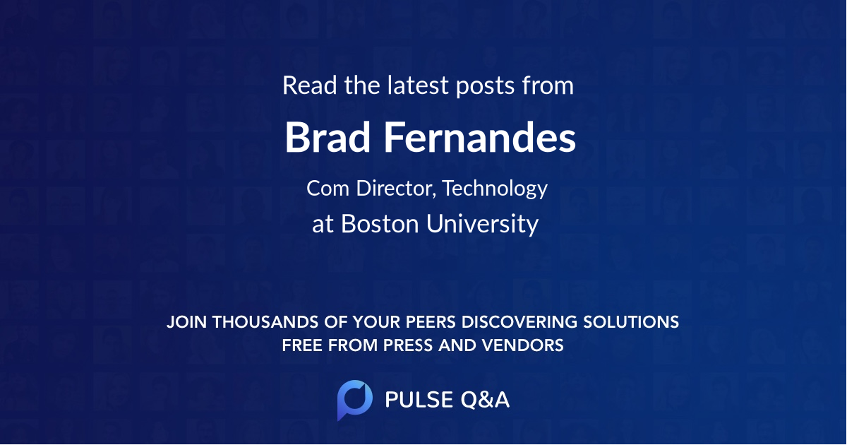 Brad Fernandes