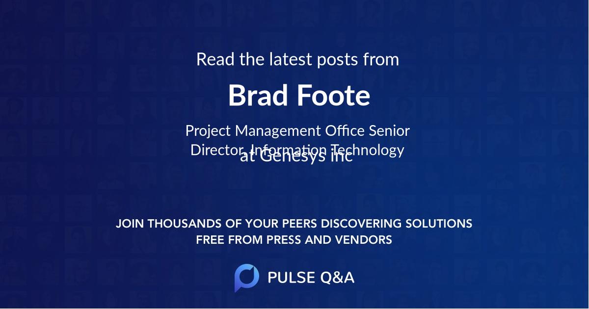 Brad Foote