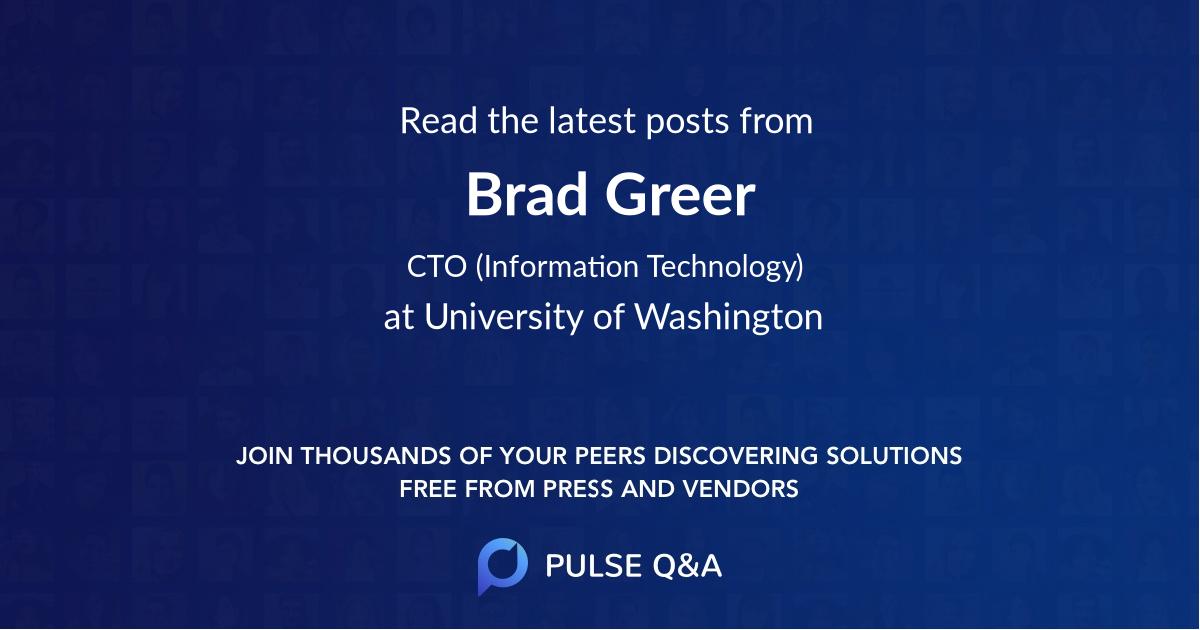 Brad Greer