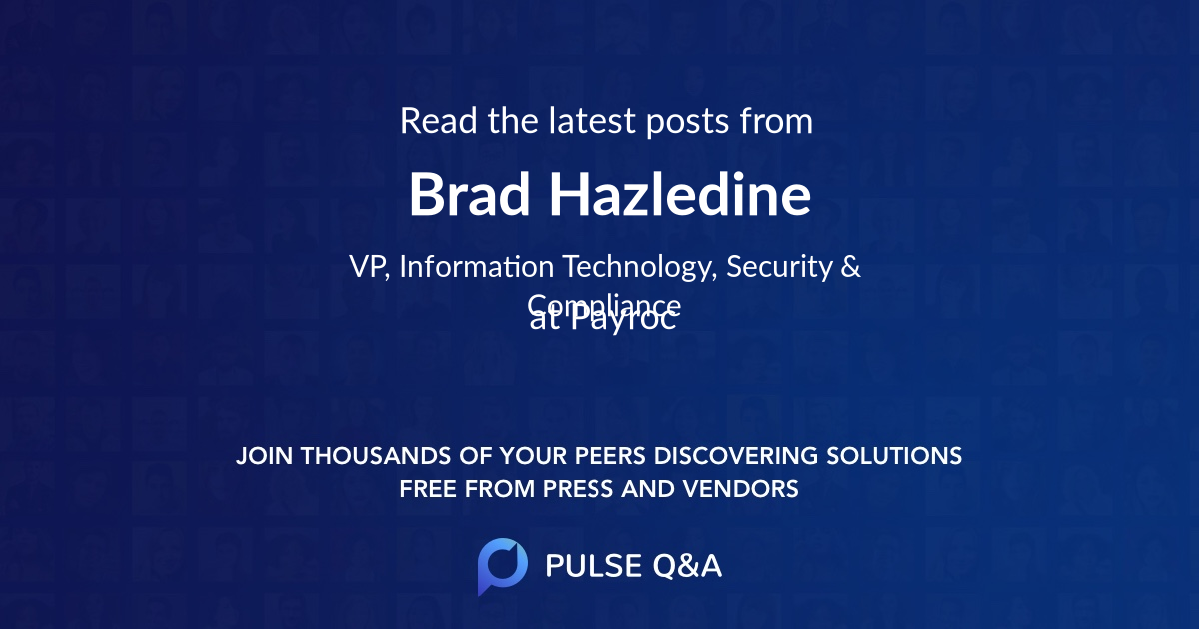Brad Hazledine