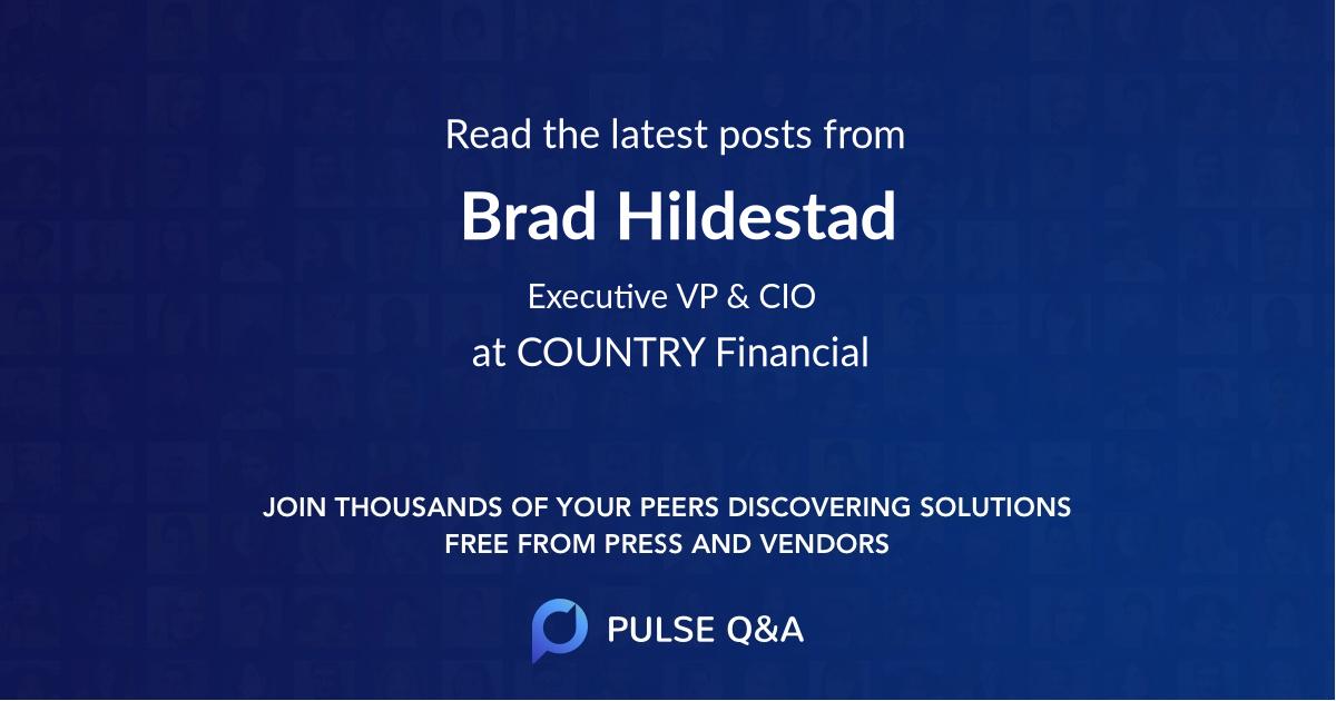 Brad Hildestad