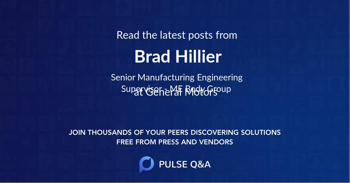 Brad Hillier