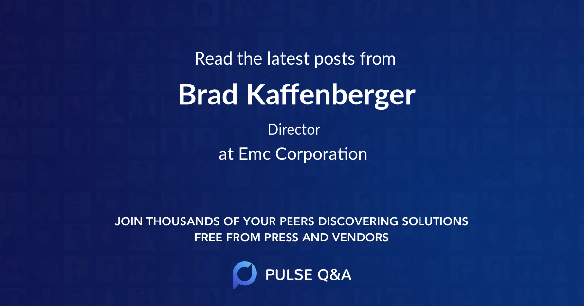 Brad Kaffenberger
