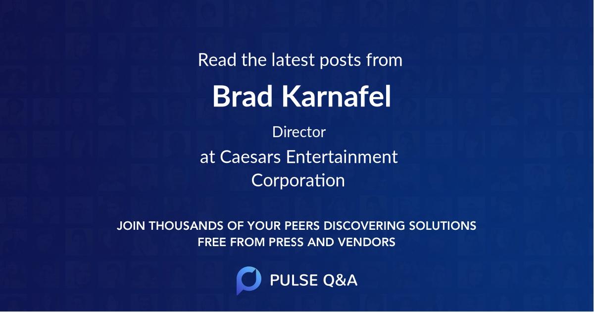 Brad Karnafel