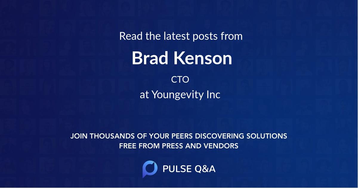 Brad Kenson