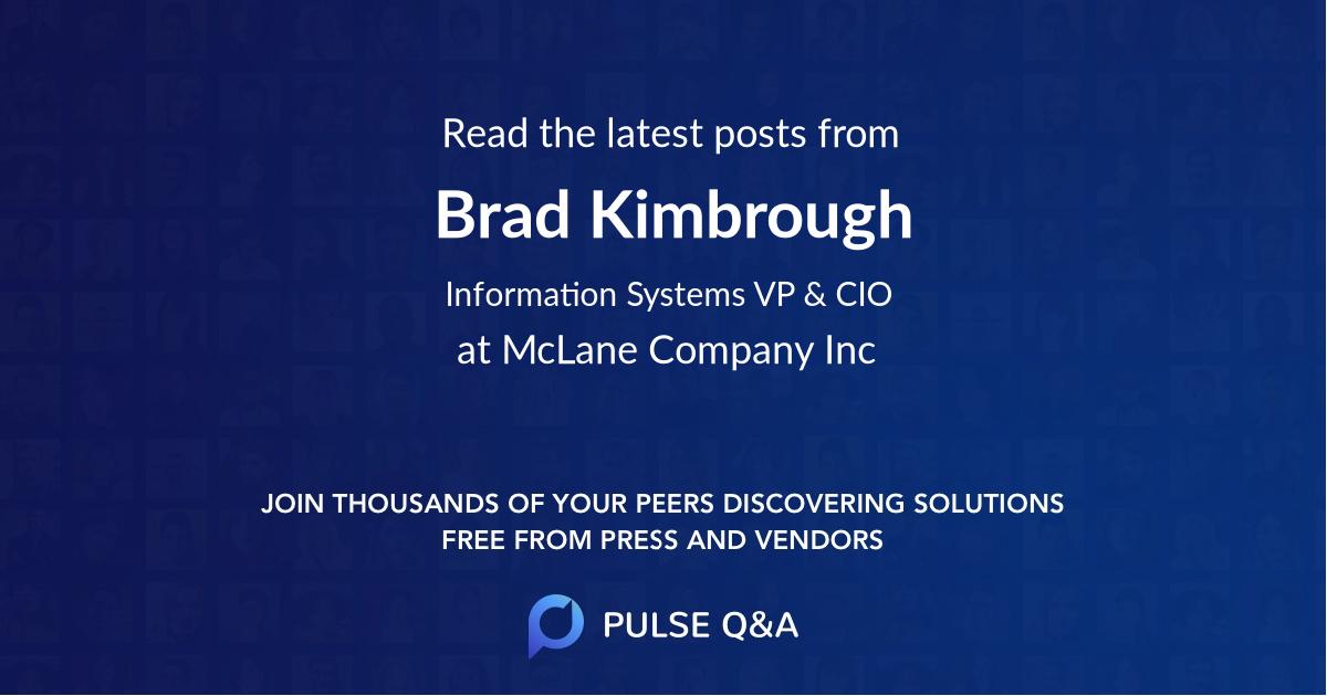 Brad Kimbrough
