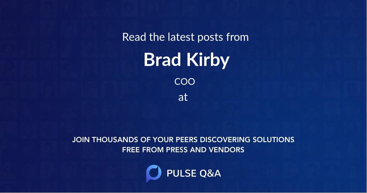 Brad Kirby