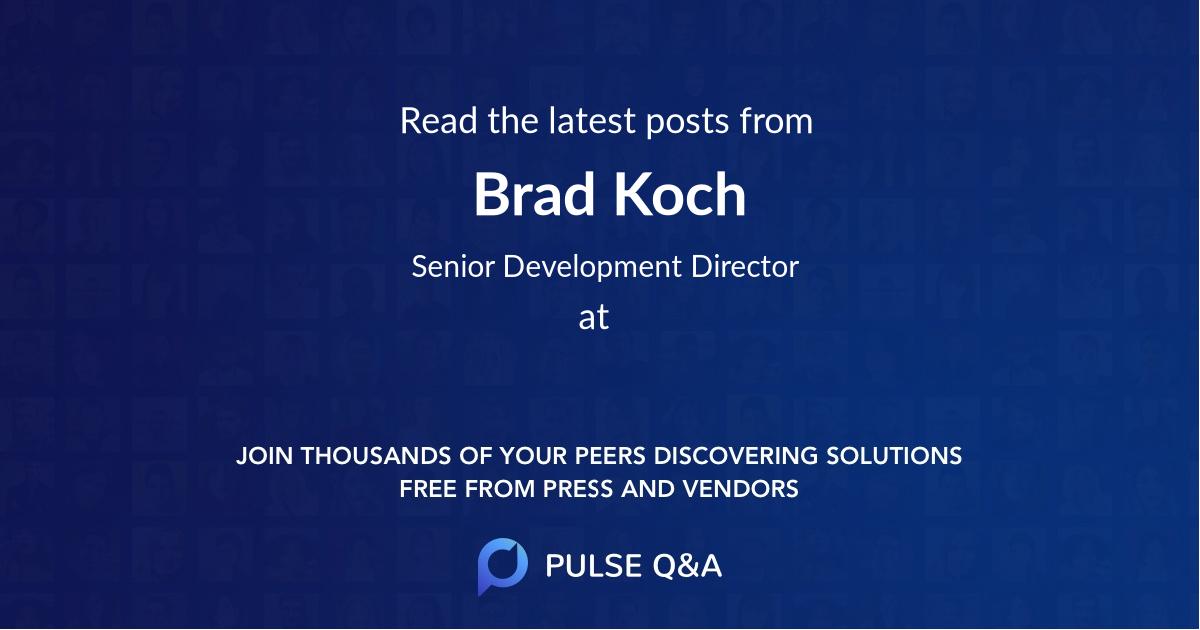 Brad Koch