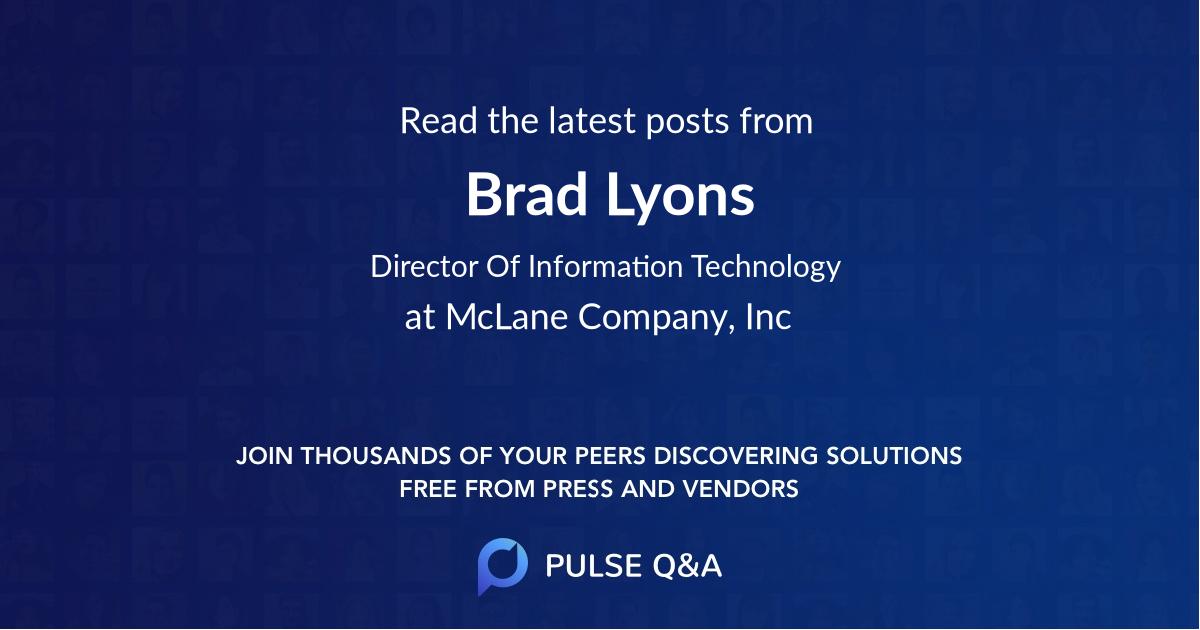 Brad Lyons