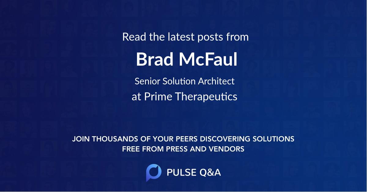 Brad McFaul