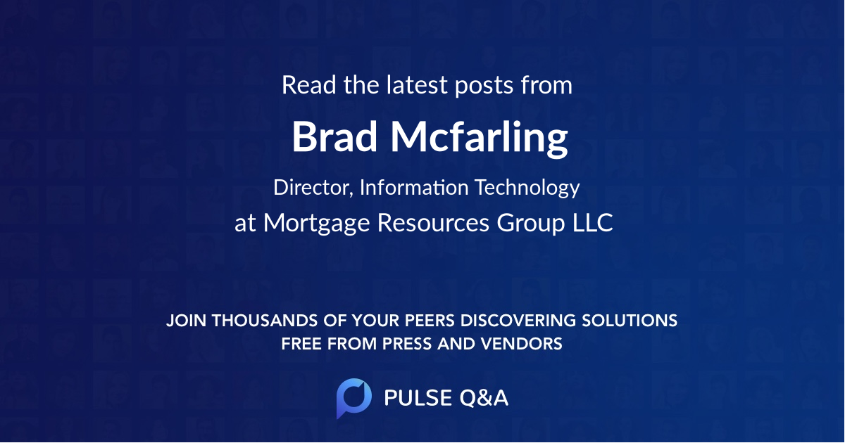 Brad Mcfarling
