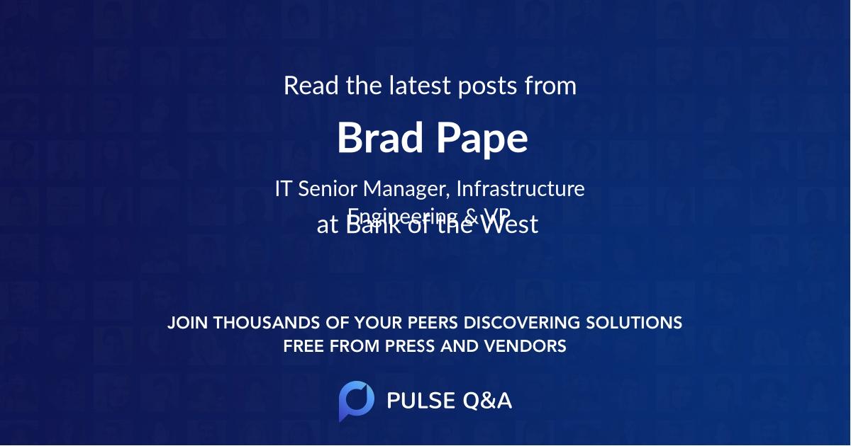Brad Pape