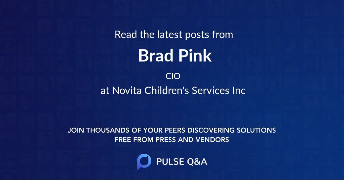Brad Pink