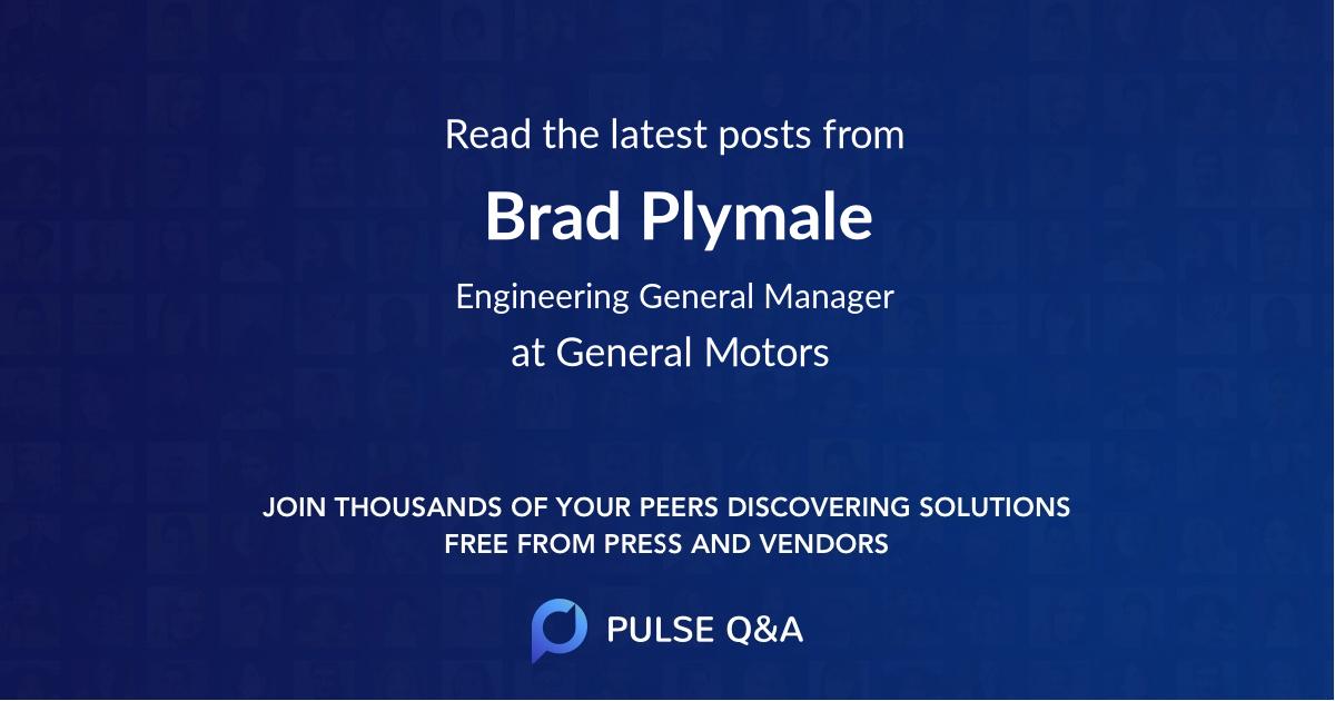 Brad Plymale