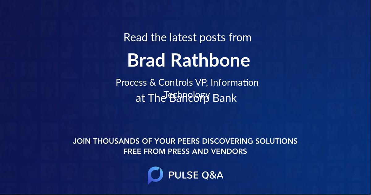 Brad Rathbone