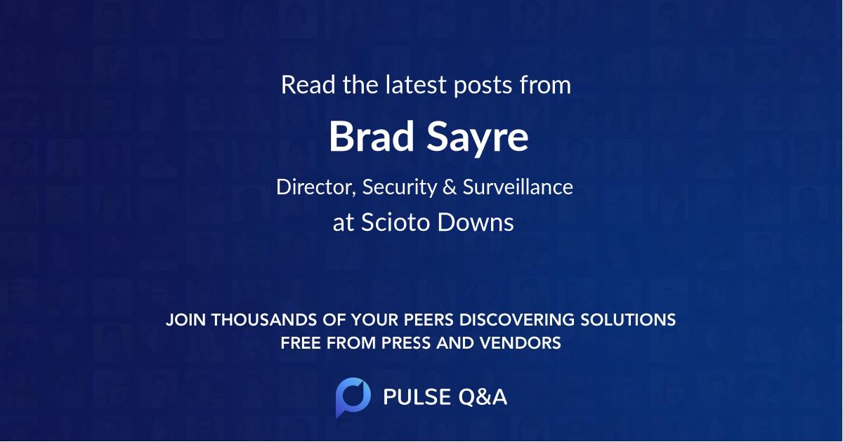 Brad Sayre