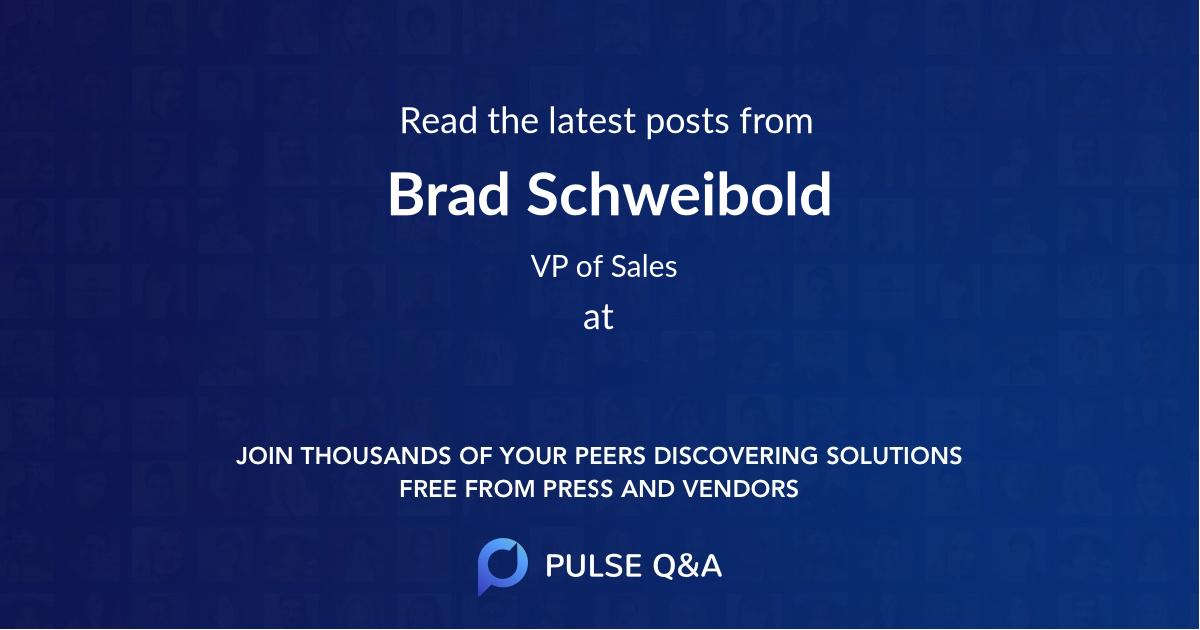 Brad Schweibold