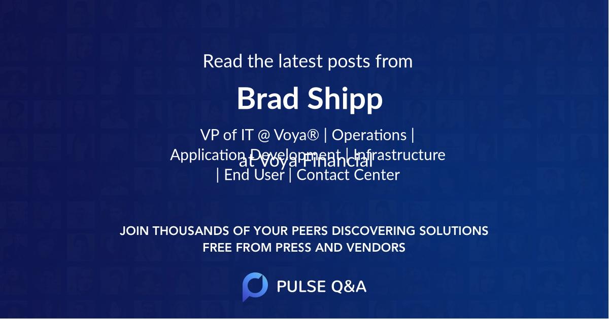 Brad Shipp