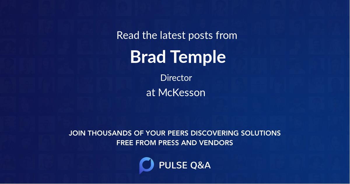 Brad Temple