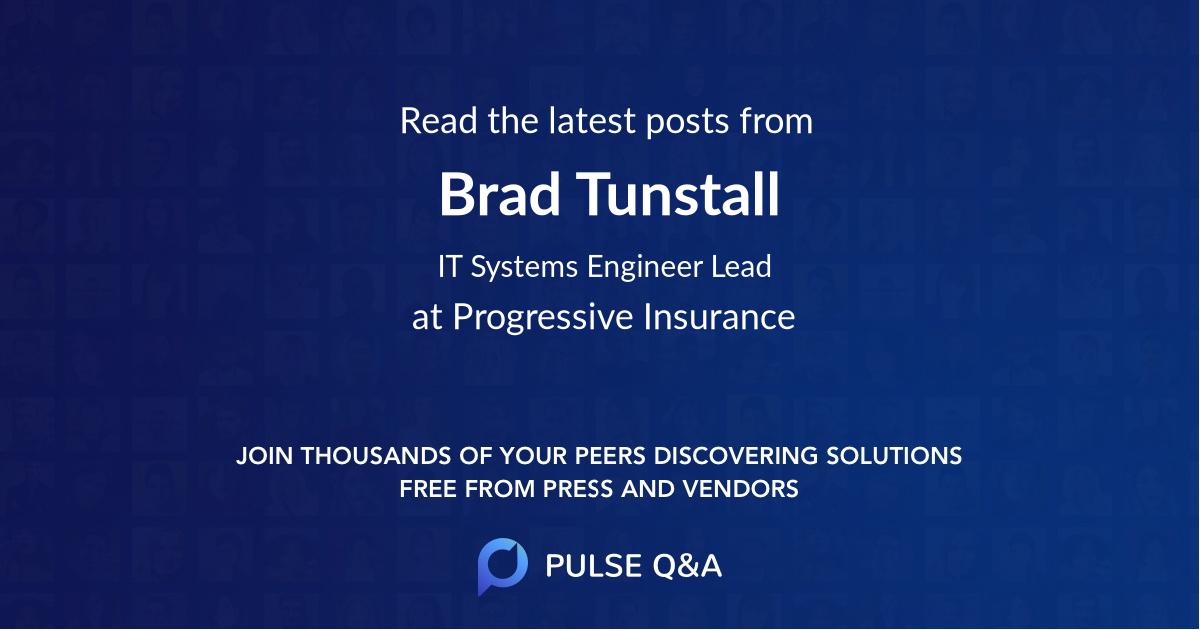 Brad Tunstall