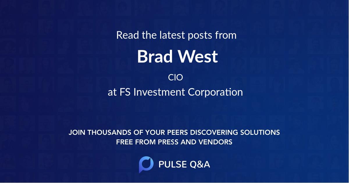 Brad West