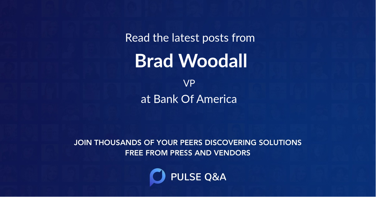 Brad Woodall