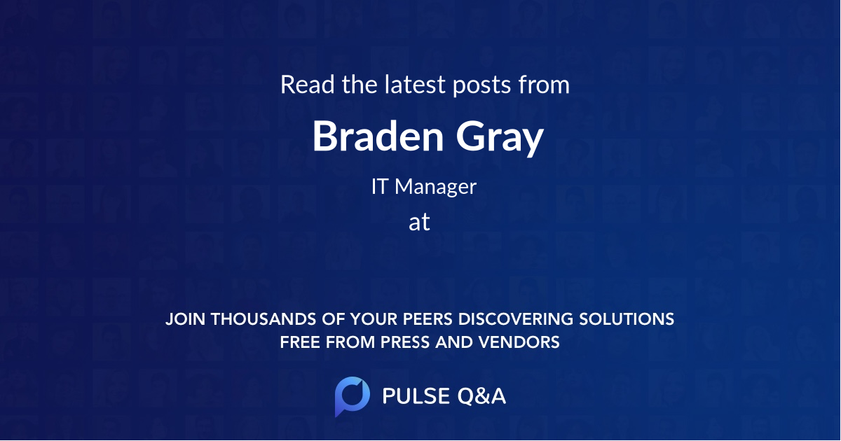 Braden Gray