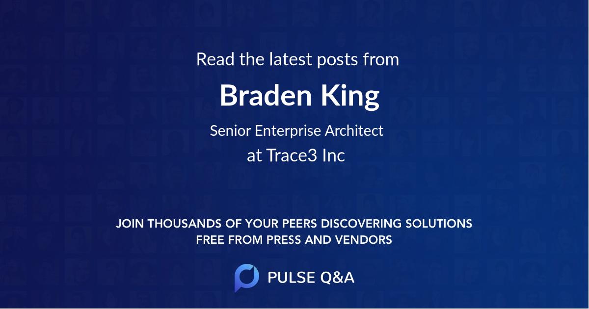 Braden King