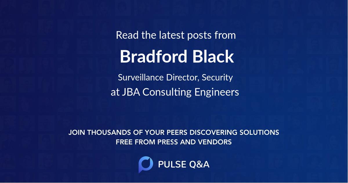 Bradford Black