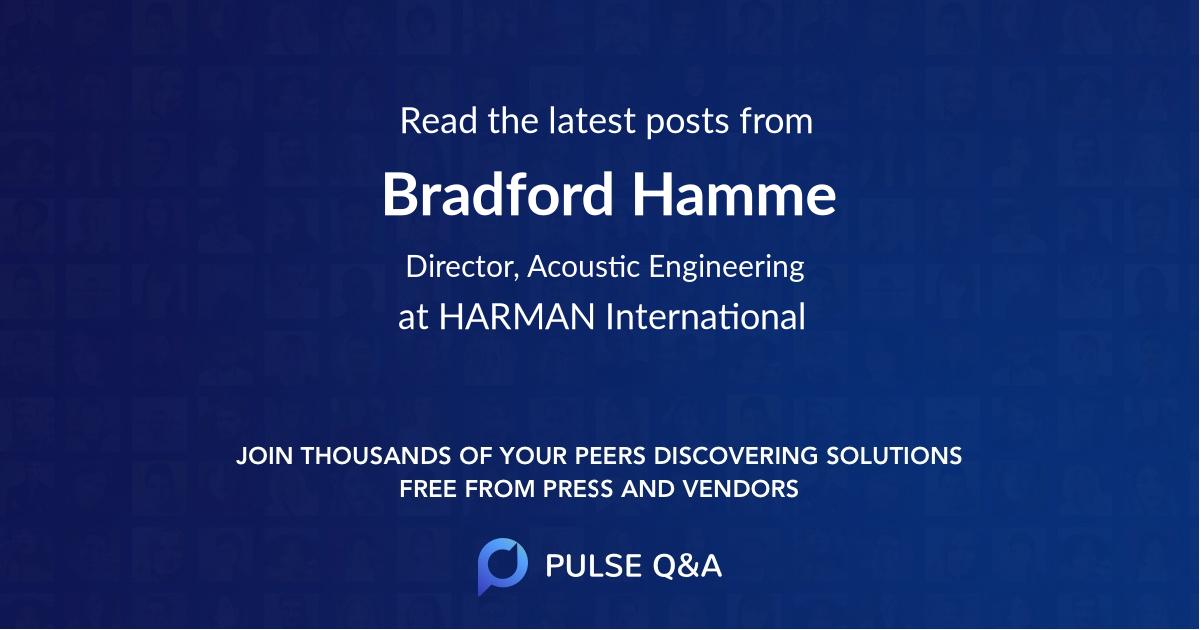 Bradford Hamme