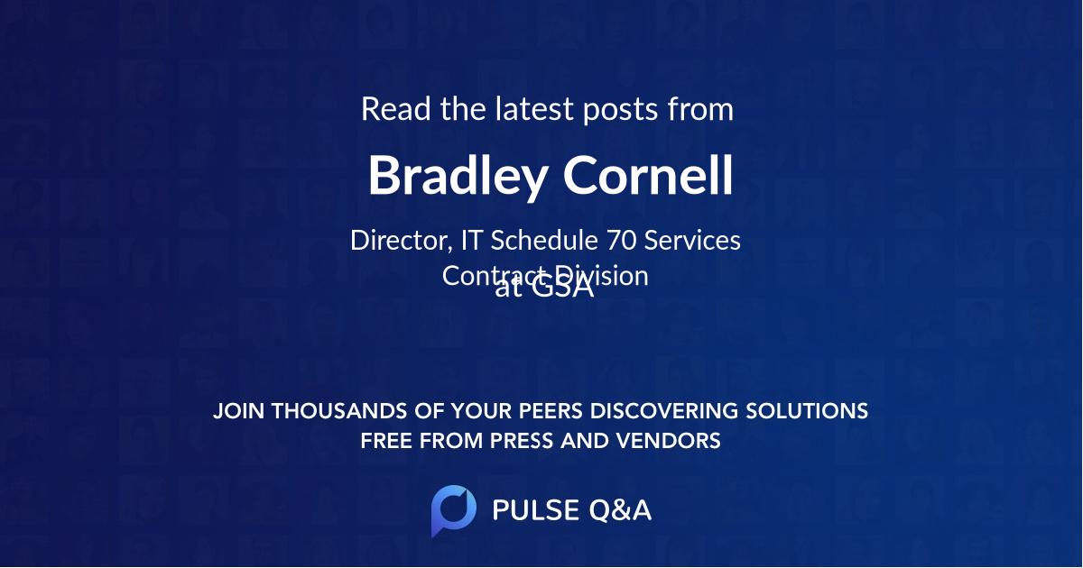 Bradley Cornell