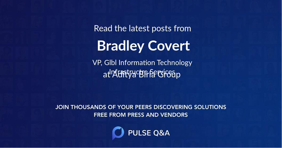 Bradley Covert