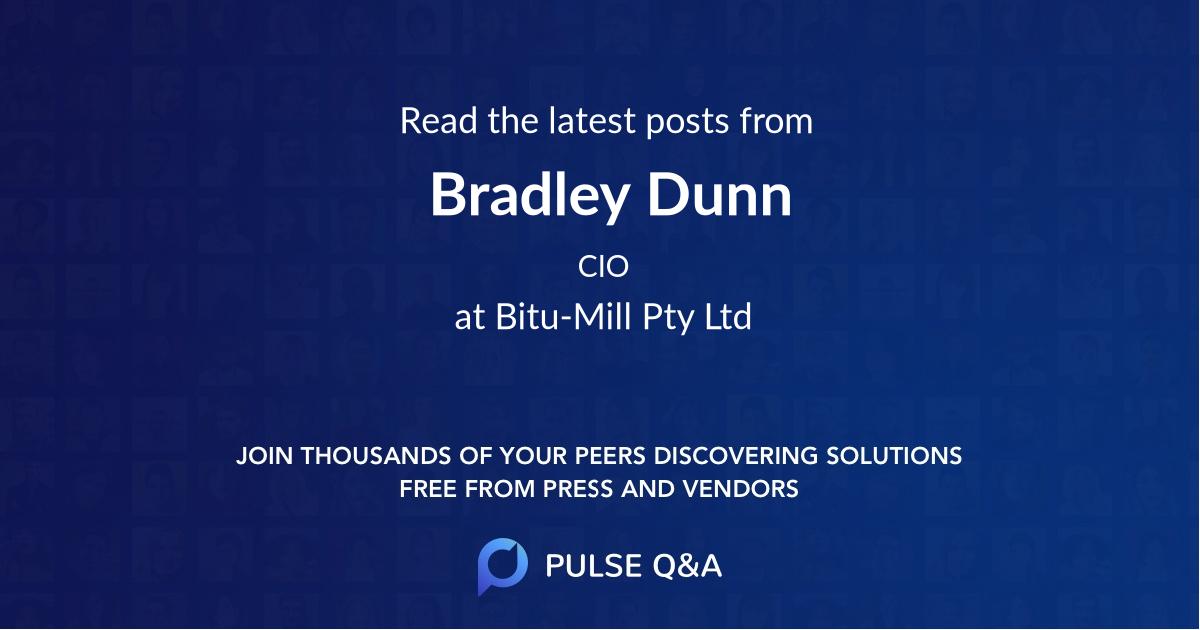 Bradley Dunn