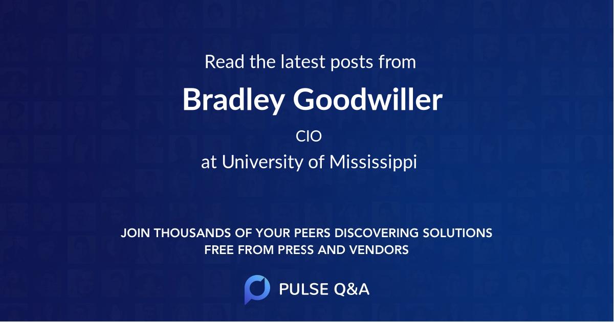 Bradley Goodwiller